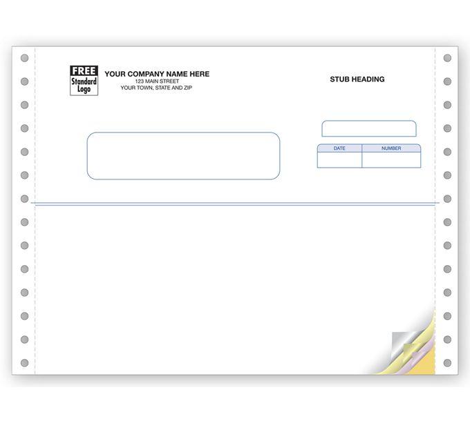 91316-Multi Purpose Forms, Continuous, Classic91316