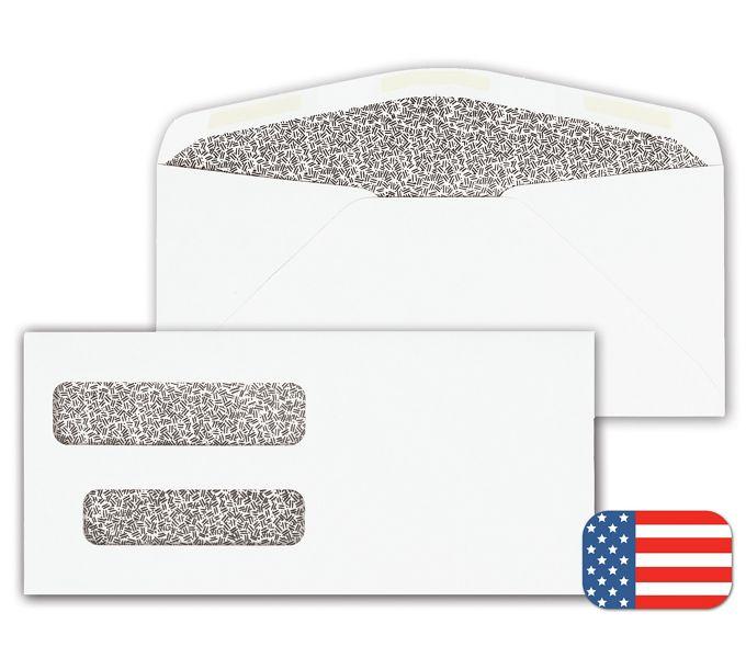 91700-Double Window Envelope91700