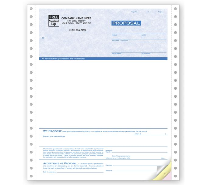 9250G-Proposals, Continuous, Parchment9250G