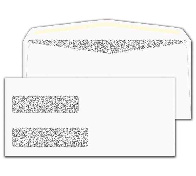 9308C-Double Window Confidential Envelope9308C