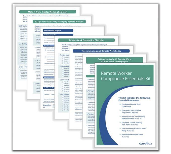 Remote Worker Compliance Essentials KitA0103
