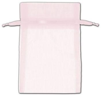 Pink Organza Bags, 4 x 6