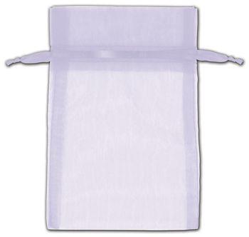Lavender Organza Bags, 4 x 6