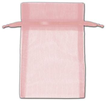 Mauve Organza Bags, 4 x 6