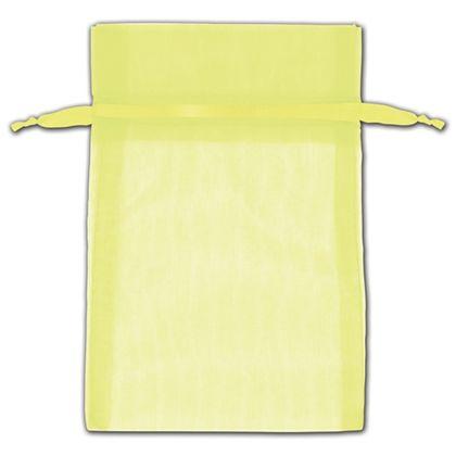 "Neon Organza Bags, 4 x 6"""