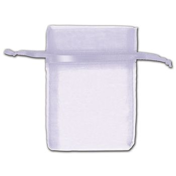 Lavender Organza Bags, 3 x 4