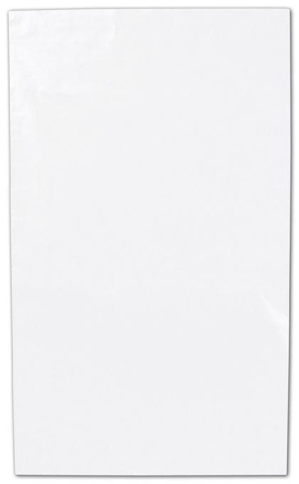 "Clear Flat Polyethylene Bags, 1.5 Mil,  3 x 5"""