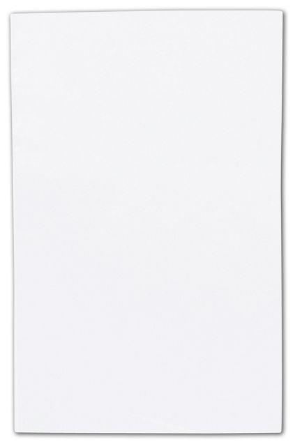 "Clear Flat Polyethylene Bags, 1.5 Mil,  4 x 6"""