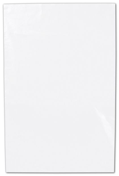 "Clear Flat Polyethylene Bags, 1 Mil,  4 x 6"""