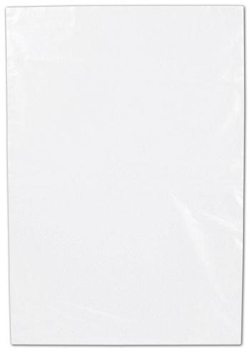 Clear Flat Polyethylene Bags, 1 Mil,  7 x 10