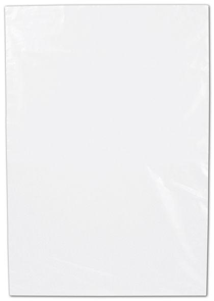 "Clear Flat Polyethylene Bags, 1 Mil,  7 x 10"""