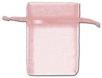 Mauve Organza Bags, 3 x 4