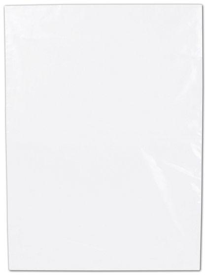 "Clear Flat Polyethylene Bags, 1.5 Mil,  9 x 12"""
