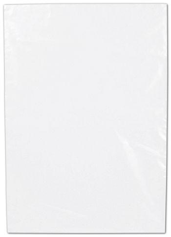 Clear Flat Polyethylene Bags, 2 Mil,  10 x 14