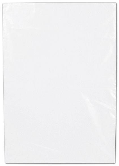 "Clear Flat Polyethylene Bags, 2 Mil,  10 x 14"""