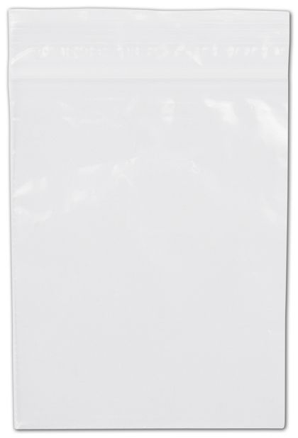 Clear Reclosable Polyethylene Bags, 2 Mil,  3 x 4""