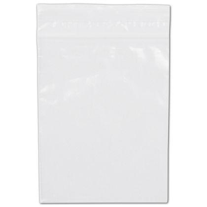 Clear Reclosable Polyethylene Bags, 2 Mil,  3 x 4