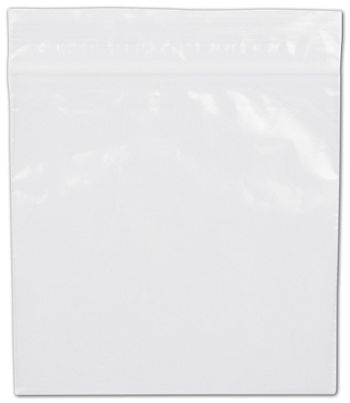 Clear Reclosable Polyethylene Bags, 2 Mil,  4 x 4