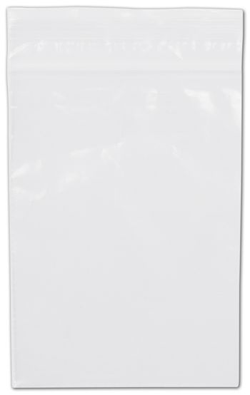 Clear Reclosable Polyethylene Bags, 2 Mil,  4 x 6