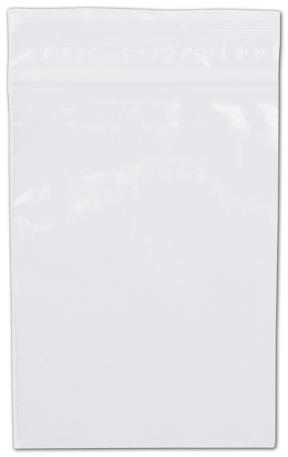 Clear Reclosable Polyethylene Bags, 2 Mil,  4 x 6""