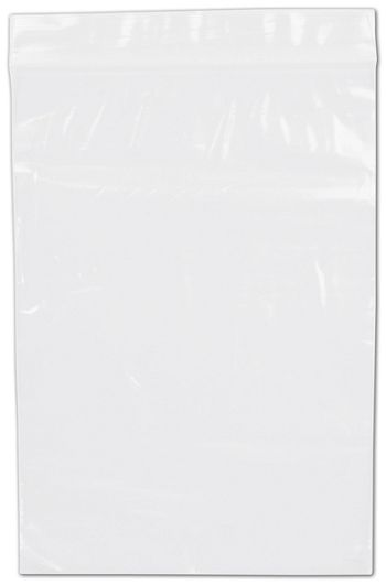 Clear Reclosable Polyethylene Bags, 2 Mil,  5 x 7