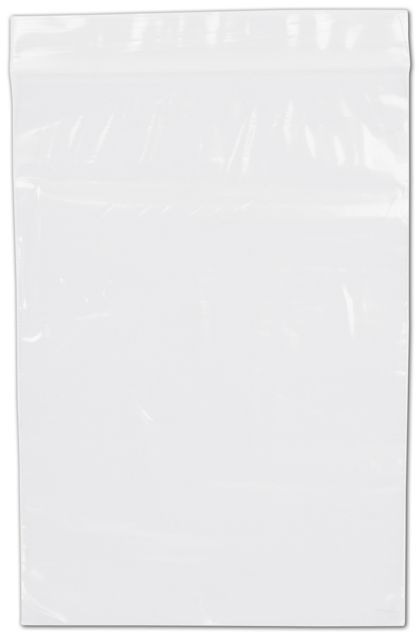 Clear Reclosable Polyethylene Bags, 2 Mil,  5 x 7""