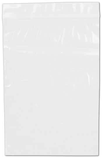 Clear Reclosable Polyethylene Bags, 2 Mil,  6 x 9