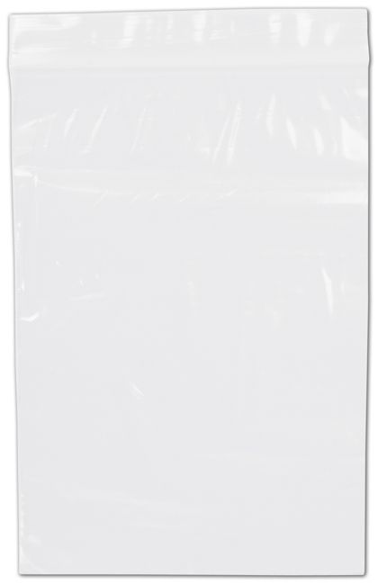 "Clear Reclosable Polyethylene Bags, 2 Mil,  6 x 9"""