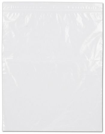 Clear Reclosable Polyethylene Bags, 2 Mil,  8 x 10