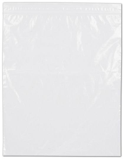 "Clear Reclosable Polyethylene Bags, 2 Mil,  8 x 10"""