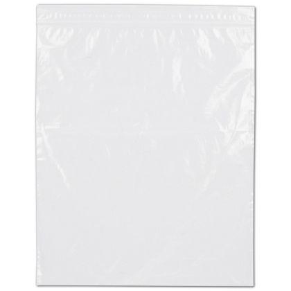 Clear Reclosable Polyethylene Bags, 2 Mil,  8 x 10
