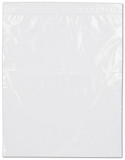 "Clear Reclosable Polyethylene Bags, 2 Mil,  9 x 12"""