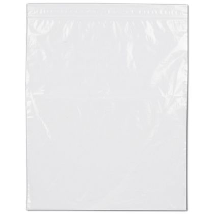Clear Reclosable Polyethylene Bags, 2 Mil,  9 x 12