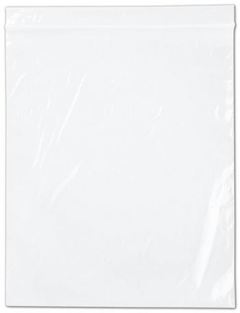 Clear Reclosable Polyethylene Bags, 2 Mil,  10 x 12