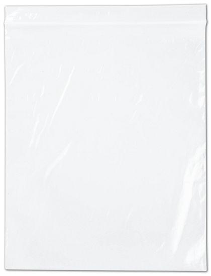 "Clear Reclosable Polyethylene Bags, 2 Mil,  10 x 12"""