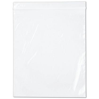Clear Reclosable Polyethylene Bags, 2 Mil,  10 x 12
