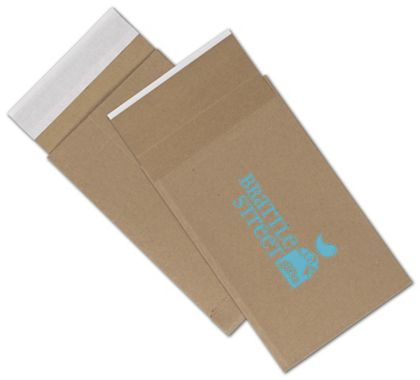 Natural Kraft Printed Eco-Mailers, 1 Color, 6 x 10""