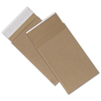 Natural Kraft Unprinted Eco-Mailers, 6 x 10