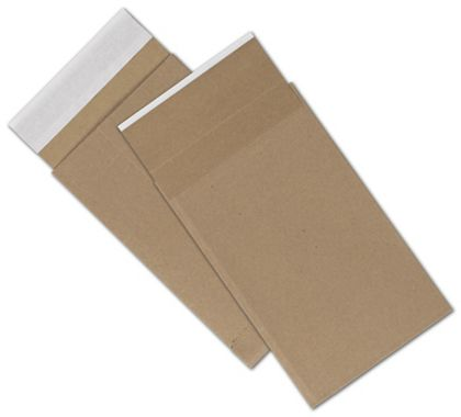 Natural Kraft Unprinted Eco-Mailers, 6 x 10""