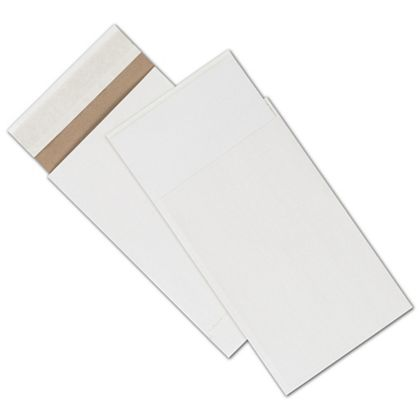 White Unprinted Eco-Mailers, 6 x 10""
