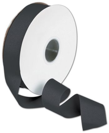 Grosgrain Black Ribbon, 1 1/2