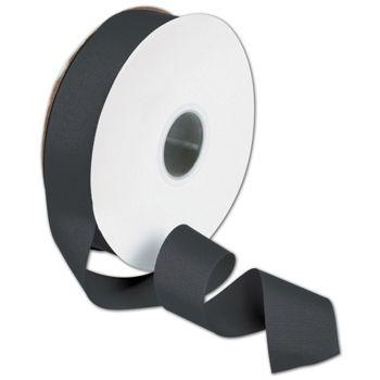 "Grosgrain Black Ribbon, 1 1/2"" x 50 Yds"