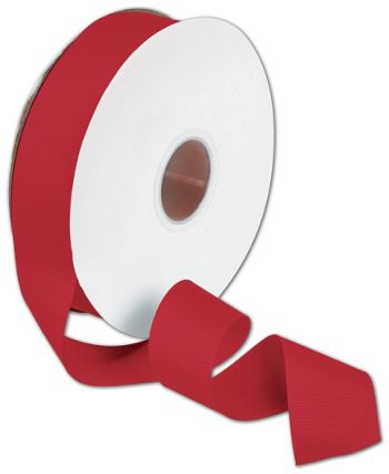 Grosgrain Red Ribbon, 1 1/2