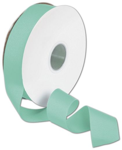 "Grosgrain Tiffany Blue Ribbon, 1 1/2"" x 50 Yds"
