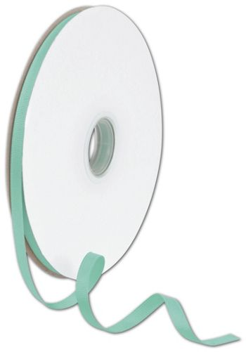 Grosgrain Tiffany Blue Ribbon, 3/8
