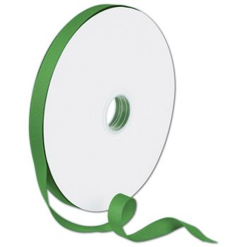 Grosgrain Emerald Green Ribbon, 5/8