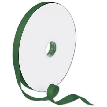 Grosgrain Forest Green Ribbon, 5/8