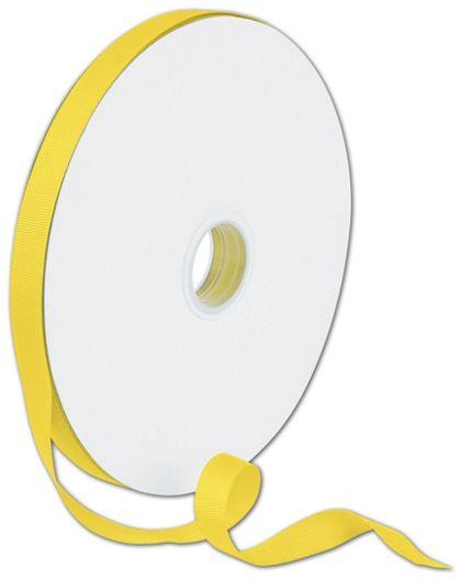 "Grosgrain Yellow Ribbon, 5/8"" x 100 Yds"