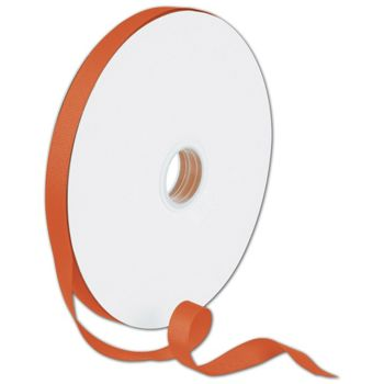 Grosgrain Orange Ribbon, 5/8