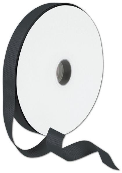 "Grosgrain Black Ribbon, 7/8"" x 100 Yds"